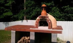 pizza oven outdoor diy. diy outdoor wood pizza oven from modular kit rustic-exterior diy t