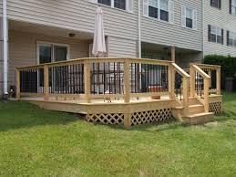 deck railing and spindles vinyl wood rails decks r us for sizing 1200 x hand rails decks d87