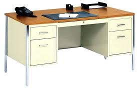 corner metal desk office furniture with hutch black walker edison glass computer metal corner desk