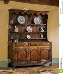 Kitchen Dresser Old English Antique Oak Kitchen Dresser Stock Photo Image 49951934