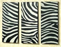 animal print wall decor safari ating