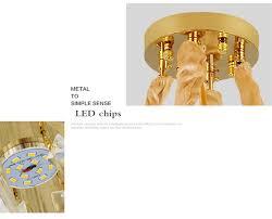 fumat post modern nordic rectangle crystal chandelier led lamp metal pendant light for restaurant kitchen