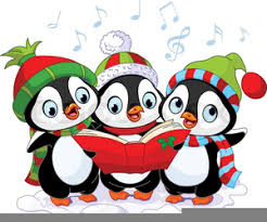 cute penguin christmas clipart. Cute Penguin Christmas Clipart Image And