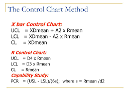 A2 Control Chart Ppt Control Charts For Variables Powerpoint Presentation