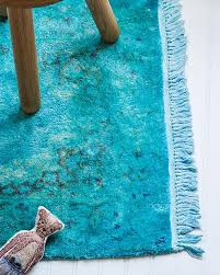 DIY Overdyed Rug