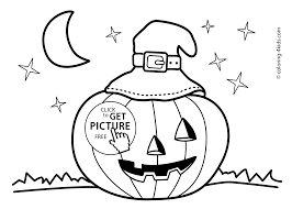 Small Picture Halloween jack olantern coloring pages for kids printable free