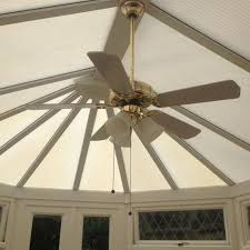 conservatory ceiling fan light