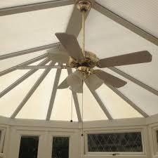 conservatory ceiling fan light
