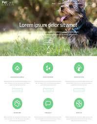 Animal Smart Pet Dog Template Rescue Website Pets Theme Teran Co