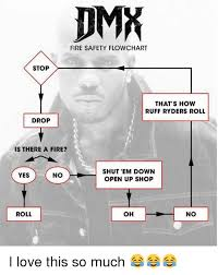 Dmx Flow Chart Dmx Fire Safety Flowchart Stop Thats How Ruff Ryders Roll