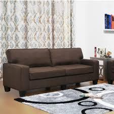 Wayfair Living Room Furniture Living In Style Jordan Linen Modern Living Room Sofa Reviews