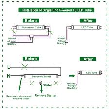 t8 led tube wiring diagram wiring diagrams best t8 led tube wiring diagram