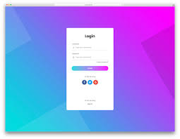 Login Page Templates 60 Free Html5 And Css3 Login Form For Your Website 2018 Colorlib
