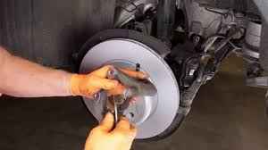 BMW 5 Series best brake pads for bmw : Replacing Rear Brake Pads and Rotors on BMWs with Electric Parking ...