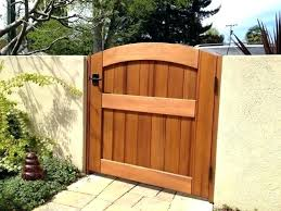 backyard fence gate lock patio door raise the height of your wall by adding a awesome patio fence gate