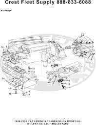 group listing 00 engine transmission mounting v8 lp4 7 4d l21 7 4b a trans