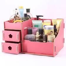 diy cosmetic make up organizer cosmetic jewelry storage box