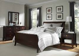 Bedroom Bedroom Colors For Walls Dark Brown Wood Nightstands
