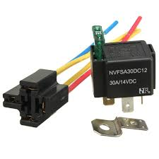 compare prices on 4 pin relay online shopping buy low price 4 pin pre wired 4 pin relay mounting base relay socket holder medium fused on off