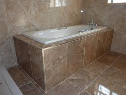 re tiling bathroom floor. Tiling Around A Bath Zoom In Re Bathroom Floor U