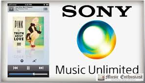 sony music unlimited logo. aplikasi musik sony music unlimited logo l