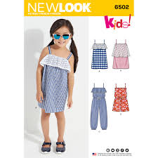Women's Romper Pattern Impressive New Look 48 Child's Jumpsuit Romper And Dresses