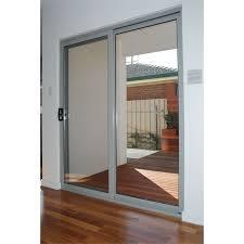 polar 2145 x 1800 aluminium double glazed sliding door kit bunnings warehouse