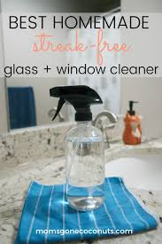 this homemade glass and window cleaner uses natural ings you probably already have in your pantry