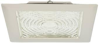 Elco Lighting Reviews Elco Lighting El11w 8 Cfl Square Trim With Fresnel Glass