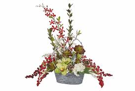 This makes the holiday season a good time to focus on selling faux  botanicalssilk and permanent flower designs.