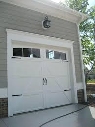 outside door trim add trim to garage hardware to you boring garage door to give it outside door trim