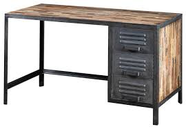 industrial style office desk. Awesome Recycled Wood And Industrial Metal Locker Style Desk For Desks Decor 18 Office