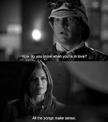 Tv Show Quotes New Castle How Do You Know When You're In Love Beckett All The Songs