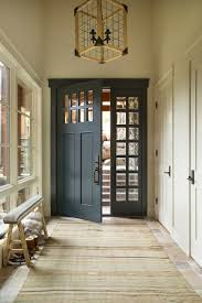 Interesting Inside Front Door Colors Rustic Entry By Massucco Warner Miller Interior Design In Decorating