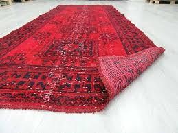 red runner rug charming red runner rug hand knotted vintage over dyed red runner rug red runner rug