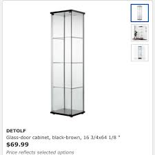 glass cabinet furniture others on