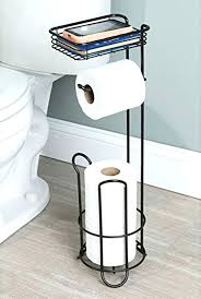 free standing toilet tissue holder toilet roll storage stand free standing toilet paper holder tissue roll