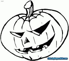 jack o lantern coloring pages free printable