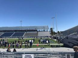 Nevada Wolfpack Football Stadium Seating Chart Mackay Stadium Section A Row 4 Seat N A Nevada Wolf