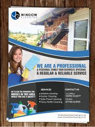 modern elegant window cleaning flyer designs for a window flyer design design 10624586 submitted to jg window cleaning flyer design closed
