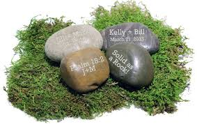 engraved garden stones. Personalized Natural Garden Stone Paper Weight Engraved Stones I