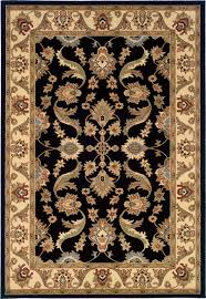 l r resources adana lr80371 black cream 4 round rug