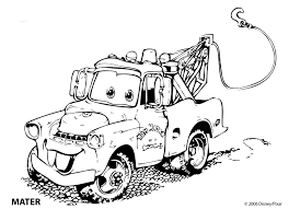 30 Lightning Mcqueen And Mater Coloring Pages Lighting Mcqueen And