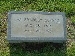 Iva Bradley Styers (1903-1973) - Find A Grave Memorial