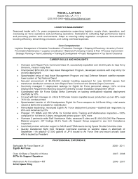 Logistic Manager Resume Sample Resume Sample Logistics Manager Resume 4