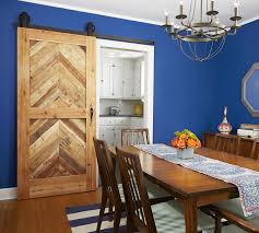 Barn Door In Kitchen How To Build A Sliding Barn Door This Old House