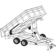 trailer blueprints 12ft x 6ft 4in hydraulic dump tandem axle trailer blueprints 12ft x 6ft 4in hydraulic dump tandem axle trailer blueprints northern tool equipment