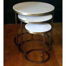 marble nesting tables round nesting tables metal white marble nesting coffee tables by madam set of marble nesting tables round marble nest coffee