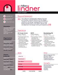 Graphic Design Resume Examples Pdf Tips Infographic Template Visual