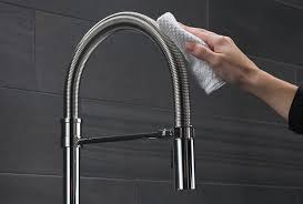 here s how to clean and maintain your kitchen or bath faucet and shower head
